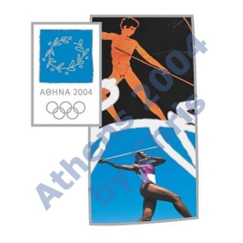 #03-006-002 5000pcs javelin sport ancinet new athens 2004