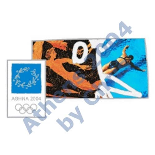 #03-006-003 5000pcs swimming sport ancinet new athens 2004