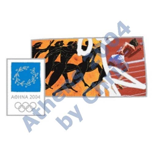 #03-006-004 5000pcs running athletics ancient new athens 2004