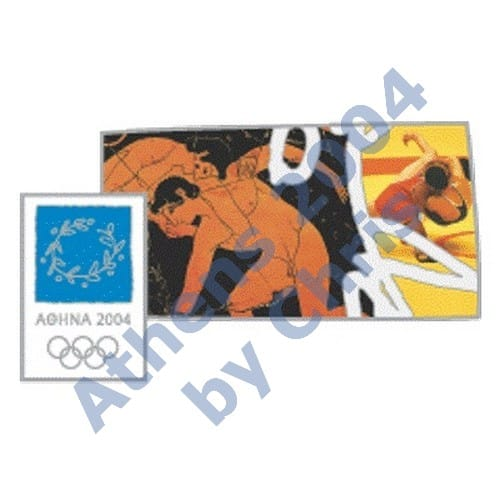 #03-006-006 5000pcs wrestling ancient new athens 2004