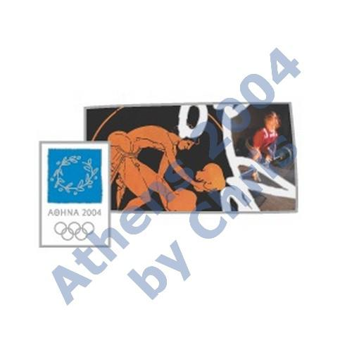 #03-006-007 5000pcs weightlifting ancient new athens 2004