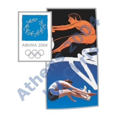 #03-006-008 5000pcs long jump ancient new athens 2004