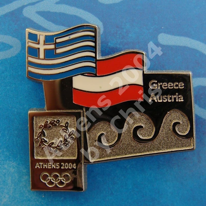 #04-150-011 Austria participating country athens 2004 2500pcs