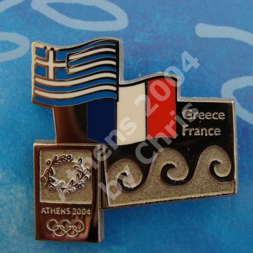 #04-150-066 France participating country athens 2004 3500pcs