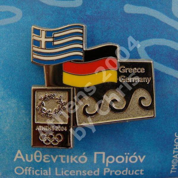 #04-150-071 Germany participating country athens 2004 4000pcs
