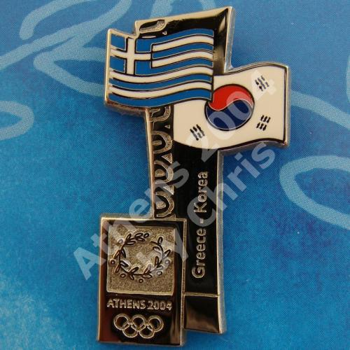 #04-150-098 Korea participating country athens 2004 1500pcs