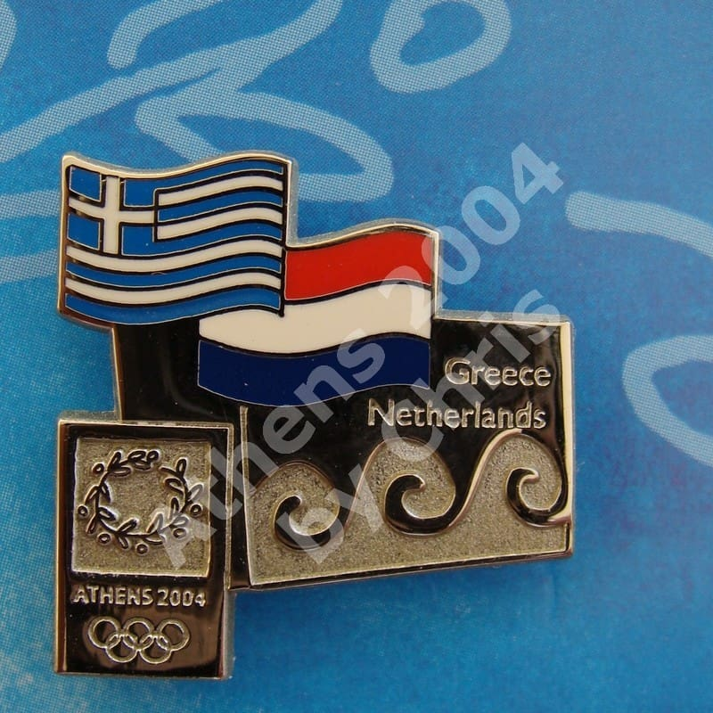 #04-150-129 Netherlands participating country athens 2004 3000pcs