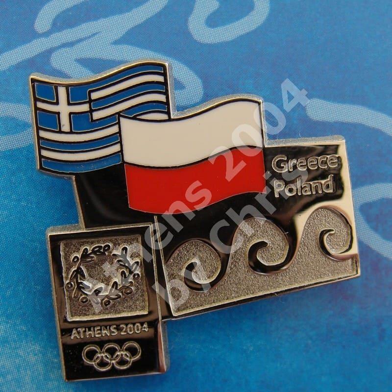 #04-150-145 Poland participating country athens 2004 2000pcs