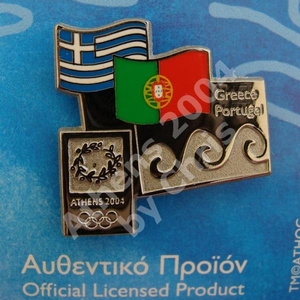 #04-150-146 Portugal participating country athens 2004 2000pcs