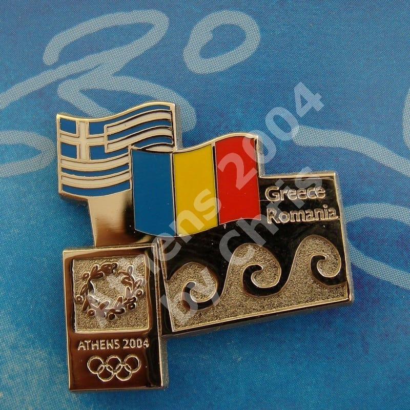 #04-150-149 Romania participating country athens 2004 2000pcs