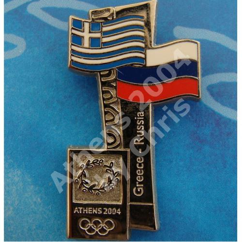 #04-150-150 Russia participating country athens 2004 3500pcs