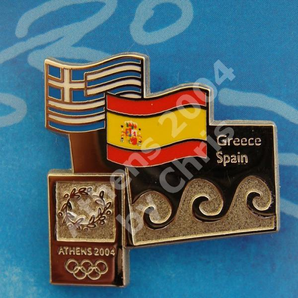 #04-150-169 Spain participating country athens 2004 3000pcs