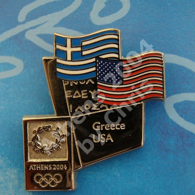 #04-150-190 USA participating country athens 2004 5000pcs
