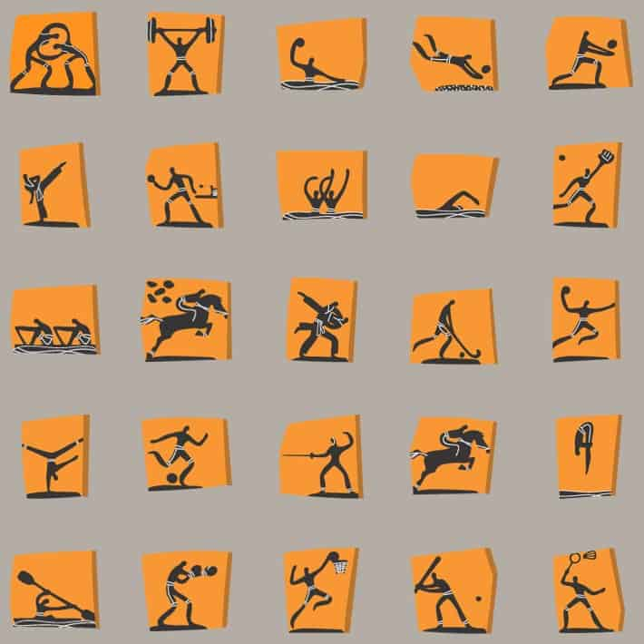 Pictograms Sports
