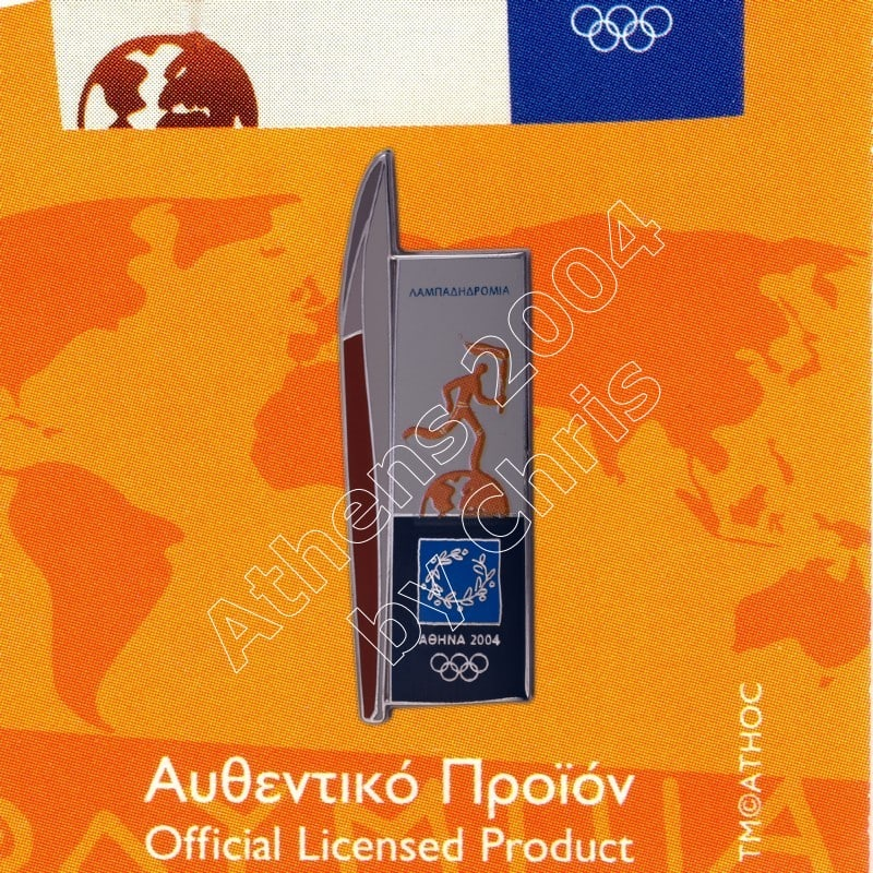 #04-192-002 torch pin athens 2004 olympic games