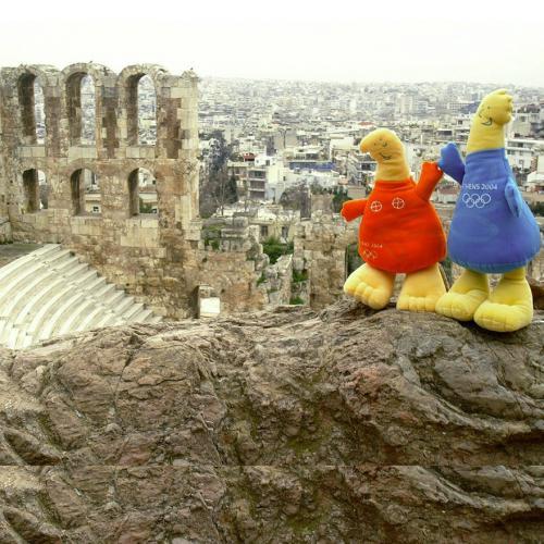 Mascot in Greek Monuments