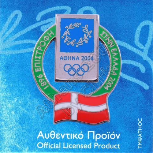 02-010-005 Denmark participating country in olympiad 1900