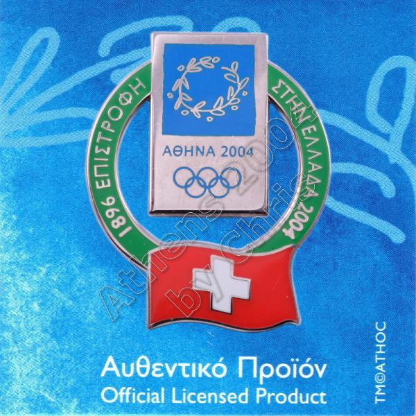 02-010-012 Switzerland participating country in olympiad 1907
