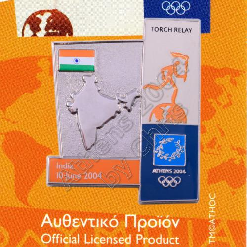 04-164-006 torch relay route countries map India