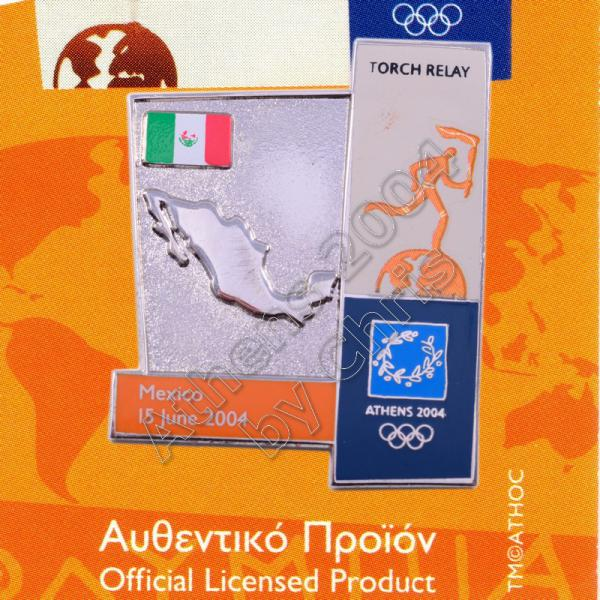 04-164-010 torch relay route countries map Mexico