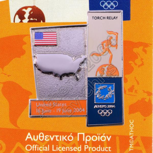 04-164-011 torch relay route countries map United States