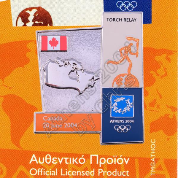 04-164-012 torch relay route countries map Canada