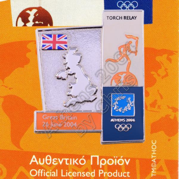 04-164-017 torch relay route countries map Gread Britain