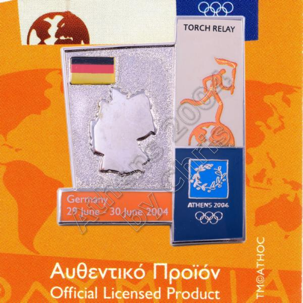 04-164-020 torch relay route countries map Germany