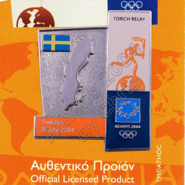 04-164-021 torch relay route countries map Sweden