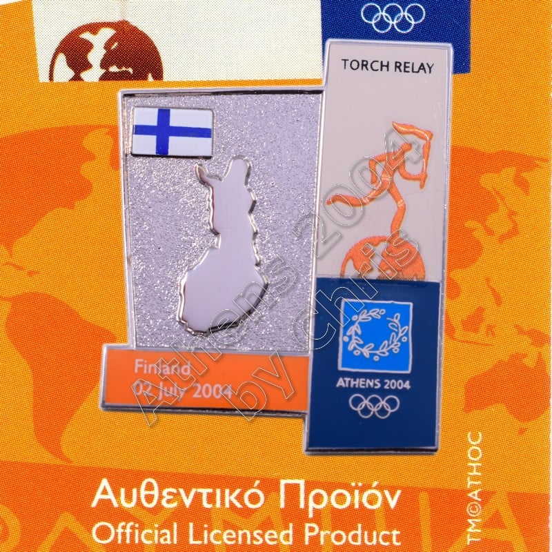 04-164-022 torch relay route countries map Finland