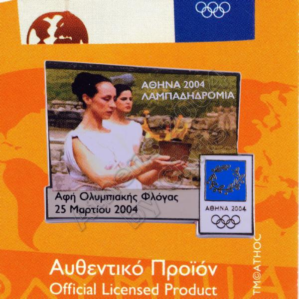 04-168-006-lighting-of-the-flame-in-ancient-olympia-athens-2004-olympic-pin