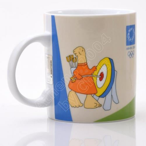 archery-athletics-modern-pentahtlon-mug-porcelain-athens-2004-olympic-games-1