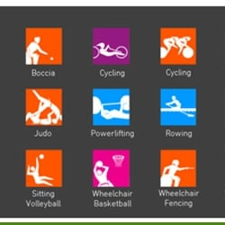 Paralympic Sports Pins