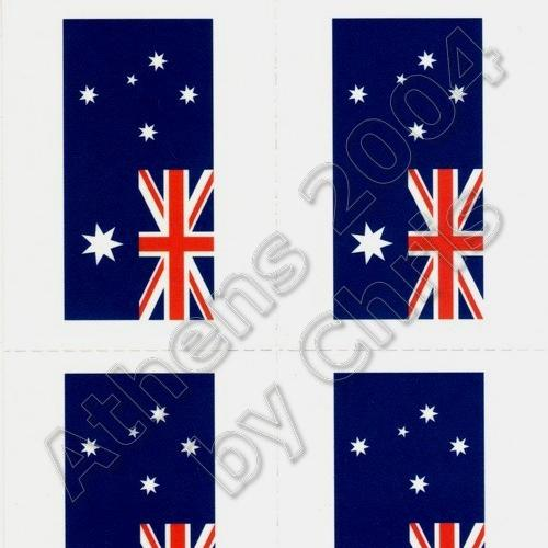 australian-flag-tattoos-athens-2004-olympic-games-1