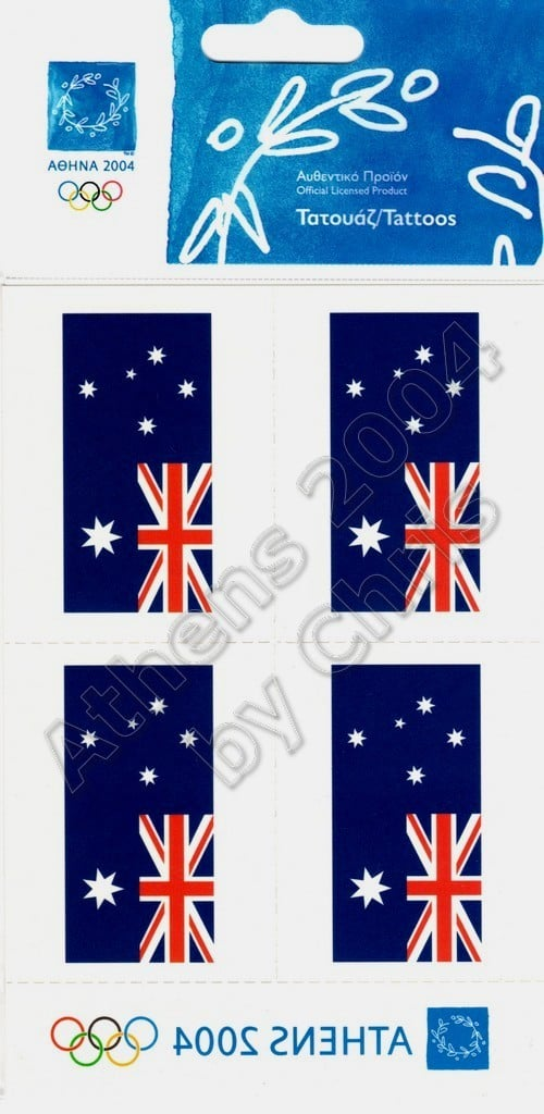australian-flag-tattoos-athens-2004-olympic-games-2