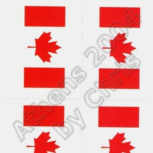 canadian-flag-tattoos-athens-2004-olympic-games-1