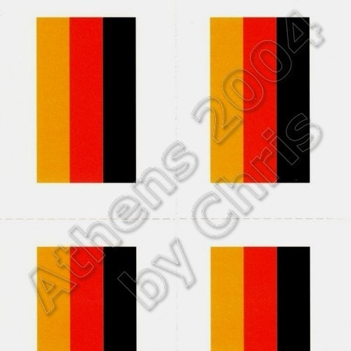 germany-flag-tattoos-athens-2004-olympic-games-1