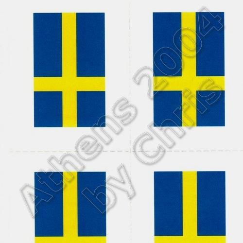 swedish-flag-tattoos-athens-2004-olympic-games-1