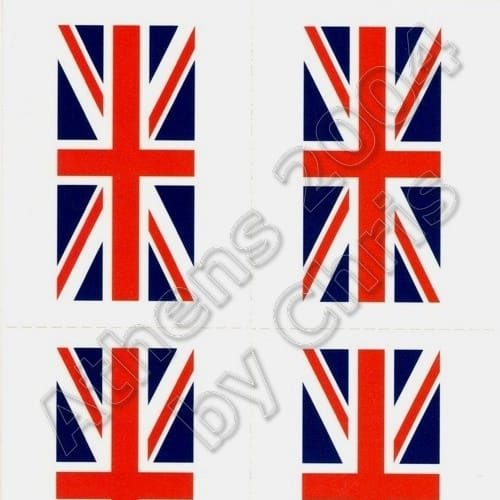united-kingdom-flag-tattoos-athens-2004-olympic-games-1