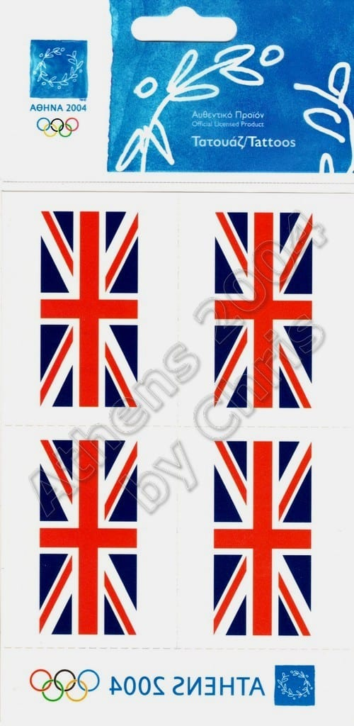 united-kingdom-flag-tattoos-athens-2004-olympic-games-2