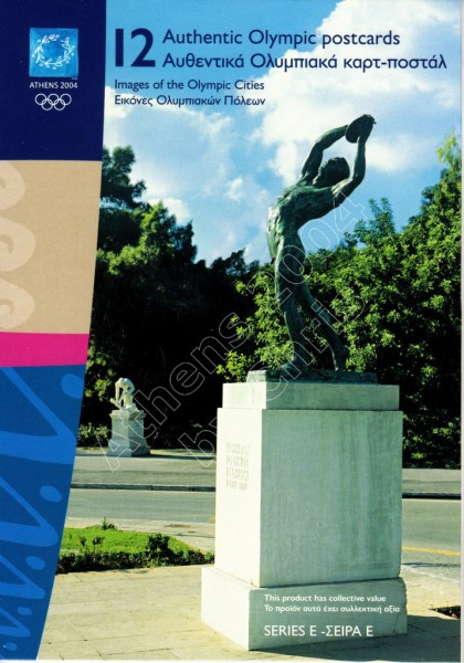 12 Olympic Postcards images of olympic cities series E (2)