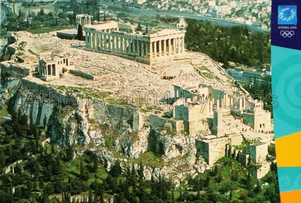 Acropolis postcard series d-4