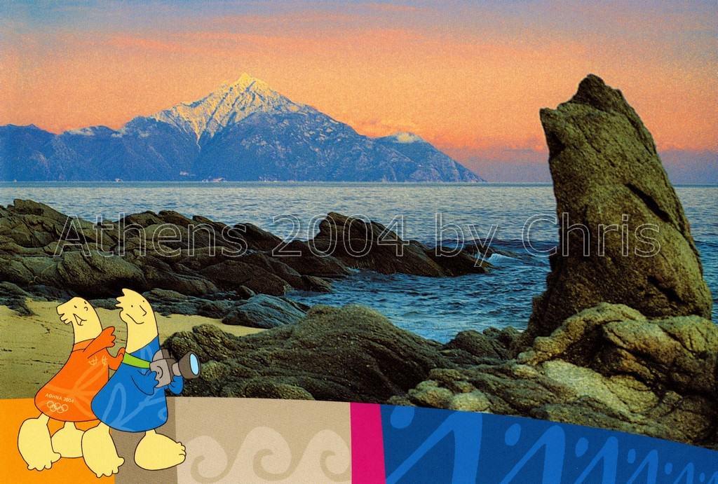 Kalamitsi beach postcard series I
